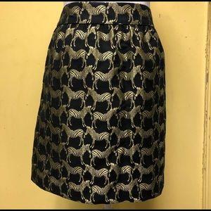 Size 10 Zebra skirt